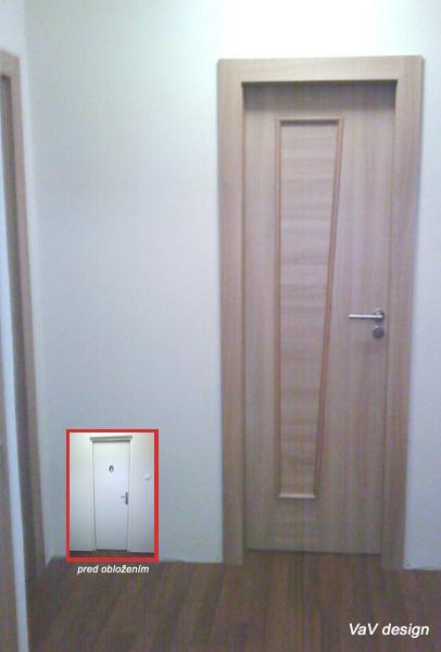 Dvere s oblozkou